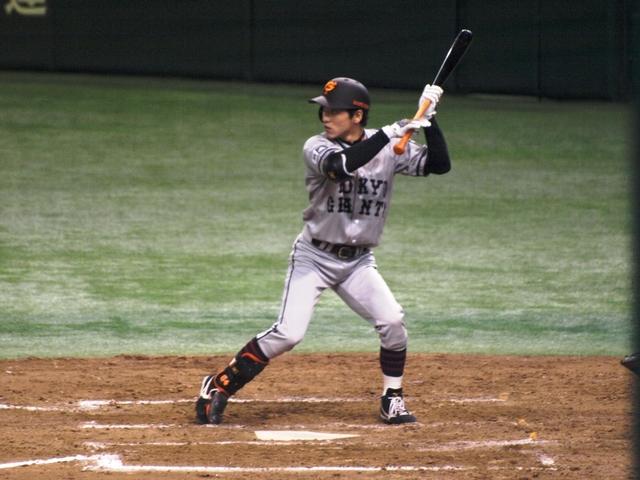 巨人の松本(今) 東京ドーム 2009年7月 7日 (火) 巨人の松本。 足が速い。でも...